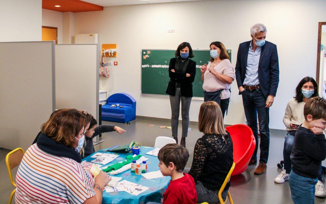 La nouvelle rectrice de l'académie de Limoges en visite à l'UEMA